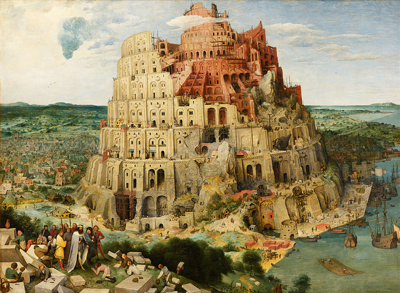 Pieter Bruegel the Elder The Tower of Babel Vienna